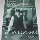 Love Lessons TRACY BYRD Sheet Music COVER PHOTO 1995
