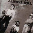 Always Have, Always Will SHENANDOAH Sheet Music PHOTO