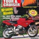 Motorcycle Tour & Cruiser Magazine November 1998 BMW R1100S