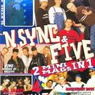 N SYNC & FIVE Winter 1999 Justin Timberlake Hologram