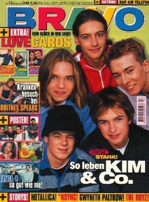 BRAVO MAGAZINE #13 March 25, 1999 METALLICA Gwyneth Paltrow