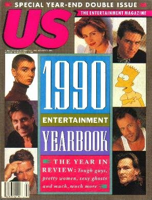 US MAGAZINE December 24, 1990 Entertainment Yearbook