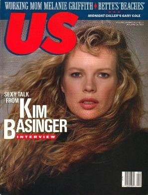 US MAGAZINE January 23 1989 KIM BASINGER Kelly Preston