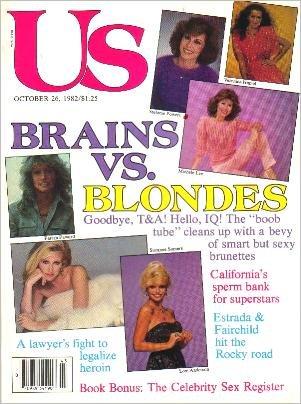 US October 26, 1982 Lainie Kazan BRAINS VS BLONDES Annabella