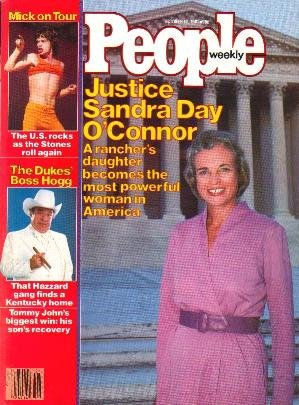 People Weekly Magazine October 12, 1981 Sandra Day O'Connor