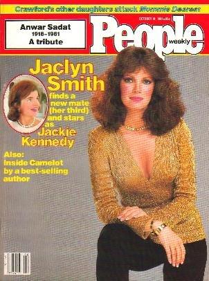 People Weekly Magazine October 19, 1981 JACLYN SMITH Anwar Sadat