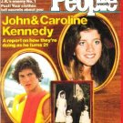 People Weekly Magazine November 30, 1981 John Jr. & Caroline Kennedy