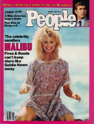 People Weekly Magazine August 1, 1983 GOLDIE HAWN Boy George