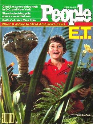 People Weekly Magazine June 28, 1982 E.T. & Henry Thomas