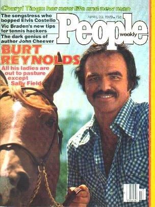 People Weekly Magazine April 23, 1979 BURT REYNOLDS Grace Jones
