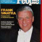 People Weekly Magazine February 2, 1981 Frank Sinatra Cover