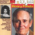 People Weekly Magazine April 12, 1982 HENRY FONDA Kate Jackson