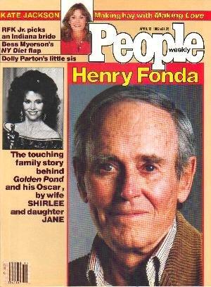 People Weekly Magazine April 12, 1982 HENRY FONDA Kate Jackson
