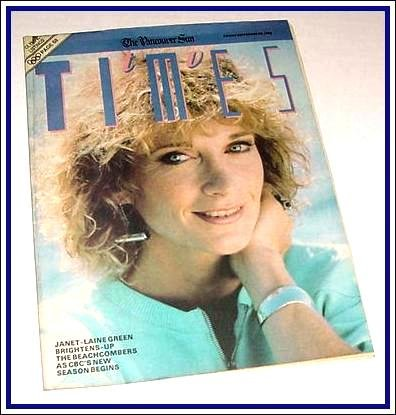 TV Times September 23, 1988 JANET-LAINE GREEN Michael Palance.