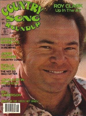 Country Song Roundup June 1978 ROY CLARK Johnny Paycheck