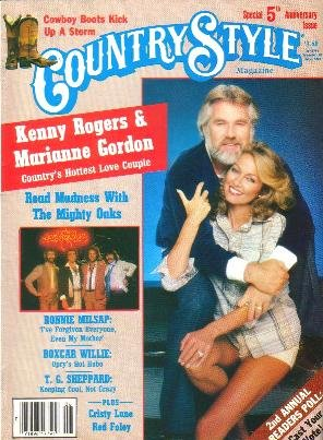 CountryStyle Magazine June 1981 KENNY ROGERS Ronnie Milsap