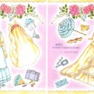 BRU FRENCH FASHION BRIDE Magazine Paper Dolls