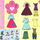 POLLY POCKET Magazine Paper Dolls 2 PAGES
