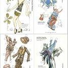 ANITZA MAGAZINE PAPER DOLLS by Artist Branimir Mladenov 7 PAGES