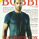BOBBI MAGAZINE Summer 2008 MATTHEW FOX Canadian