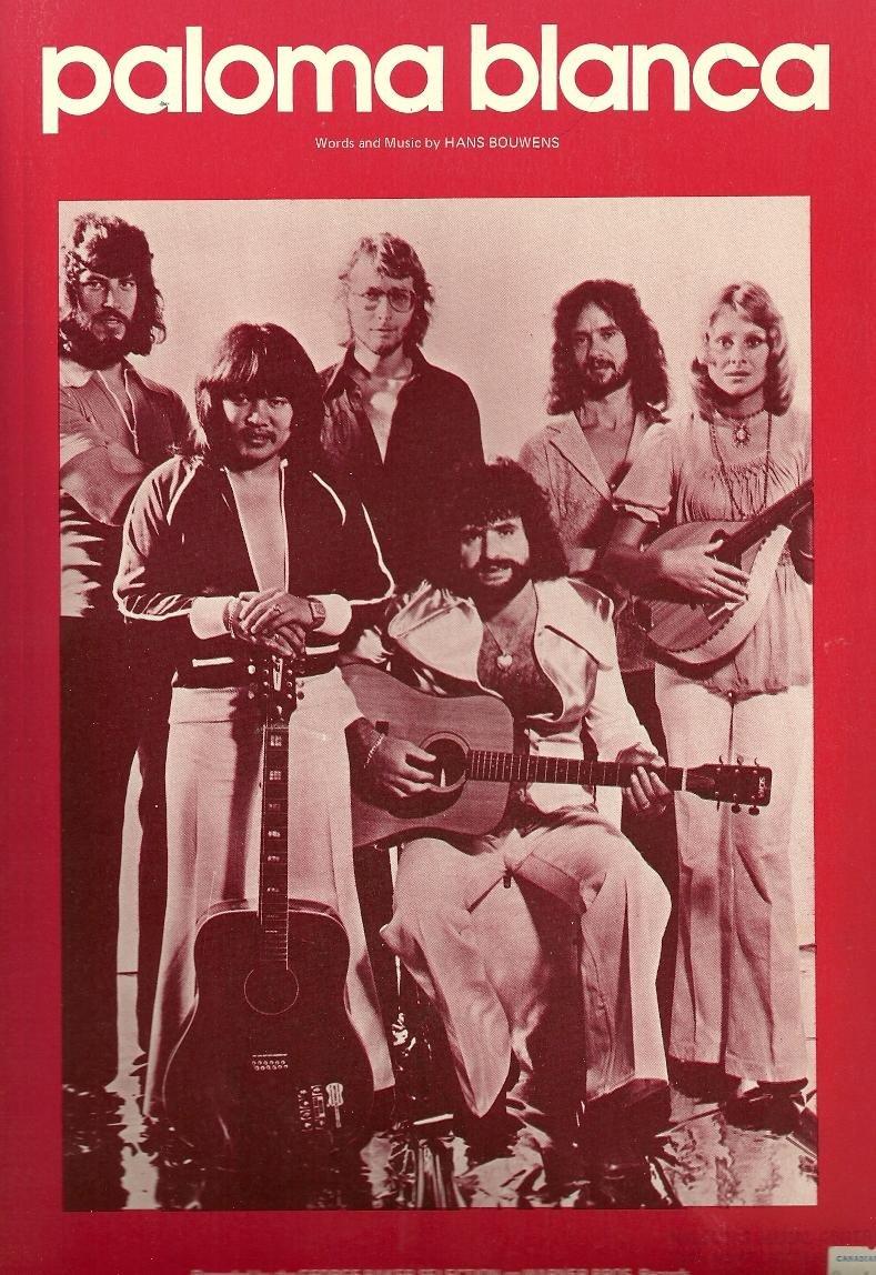 PALOMA BLANCA George Baker Selection Sheet Music