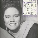 DON`T MAKE ME OVER Original Easy Piano Sheet Music SYBIL Old Store Stock!
