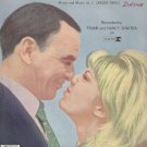 SOMETHIN' STUPID Sheet Music Frank and Nancy Sinatra 1967