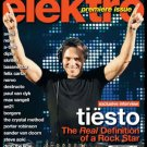 ELEKTRO MAGAZINE Premiere Issue Spring 2012 TIËSTO EXCLUSIVE INTERVIEW