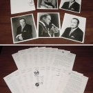 "BOB HOPE PRESS KIT Photos Bios Folder & 36-Page ""The World of Bob Hope"" Book 70s"