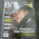 BILLBOARD MAGAZINE September 19, 2009 TIM McGRAW Lynyrd Skynyrd NEW COPY!
