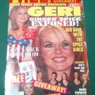 TEEN MUSIC MAGAZINE 1999 Bagged/Unopened w/ UNCUT Ginger Spice PAPER DOLLS Geri