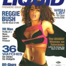 LIQUID MAGAZINE Premiere Issue December 2006 LAYLA EL Reggie Bush ALONZO MOURNING