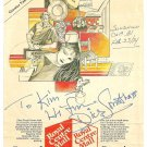 DICK SMOTHERS Original Autograph Dated February 23, 1984