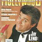 INSIDE HOLLYWOOD MAGAZINE June 1992 JAY LENO Jeffrey Katzenberg NICK NOLTE