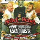 REVOLVER LEGENDS MAGAZINE Rebel Meets Rebel Spectacular 2008 SLIPKNOT Megadeth