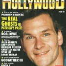 INSIDE HOLLYWOOD MAGAZINE February 1991 Premiere Issue PATRICK SWAYZE