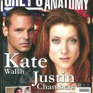 GREY'S ANATOMY MAGAZINE #4 September/October 2007 KATE WALSH Justin Chambers NEW