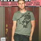 ANTENNA MAGAZINE Spring 2010 MAD MEN'S AARON STATON Clark Duke ABSOLUT VODKA AD