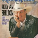 MUSIC CITY NEWS August 1989 RICKY VAN SHELTON 23rd Annual Country Awards Photos