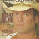 MUSIC CITY NEWS April 1988 RICKY VAN SHELTON Lyle Lovett RICKY SKAGGS Alabama