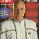 TV GUIDE MAGAZINE December 12, 1998 STAR TREK PATRICK STEWART New Copy!