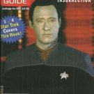 TV GUIDE MAGAZINE December 12, 1998 STAR TREK BRENT SPINER New Copy!