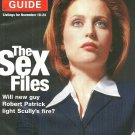 TV GUIDE MAGAZINE November 18-24, 2000 X-FILES' GILLIAN ANDERSON New Unread Copy