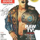 TV GUIDE MAGAZINE June 3, 2000 WWF THE ROCK Angelina Jolie NEW UNREAD COPY!