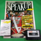 SPEAK UP MAGAZINE & CASSETTE July 1988 SPALDING GRAY INTERVIEW James Mills
