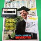 SPEAK UP MAGAZINE & CASSETTE August 1988 CHARLES MORGAN & CAR David Crosby