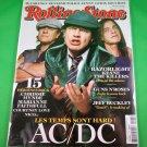 FRENCH LANGUAGE ROLLING STONE MAGAZINE #05 December 2008 AC/DC New Unread Copy!