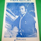 THROUGH IT ALL Original Sheet Music ANDRAÉ CROUCH COVER © 1971