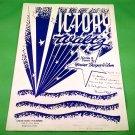 VICTORY WALTZ Original Sheet Music NORINE THORPE WILSON © 1943 SIGNED!