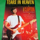 TEARS IN HEAVEN Piano Vocal Guitar Sheet Music ERIC CLAPTON © 1991